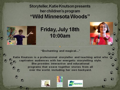 Katie Knutson wild MN Woods