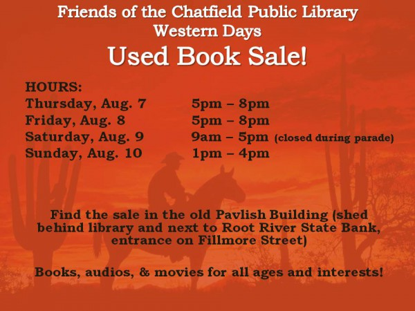 Western Days Book Sale 2014