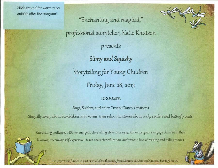Katie Knutson Storytelling