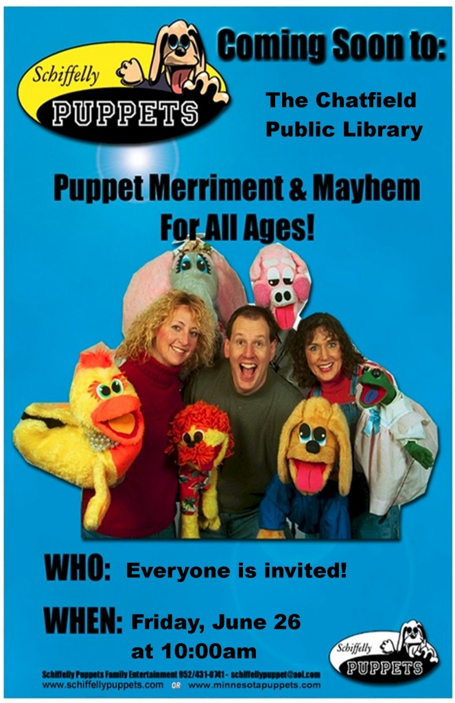 Schiffelly Puppets Poster