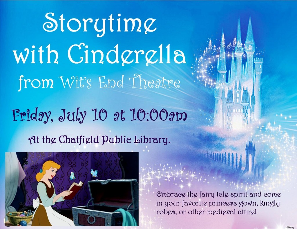 Storytime with Cinderella