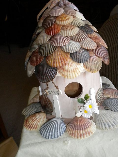 Shell Fairy House Chatfield Public Library