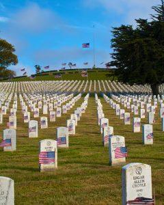 Memorial graves