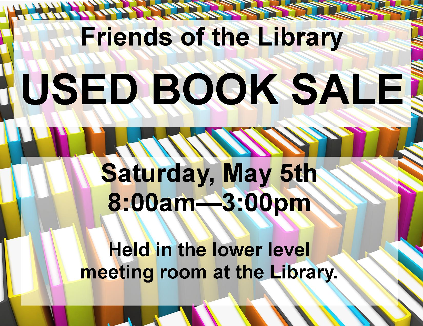 used book sale chatfield public library